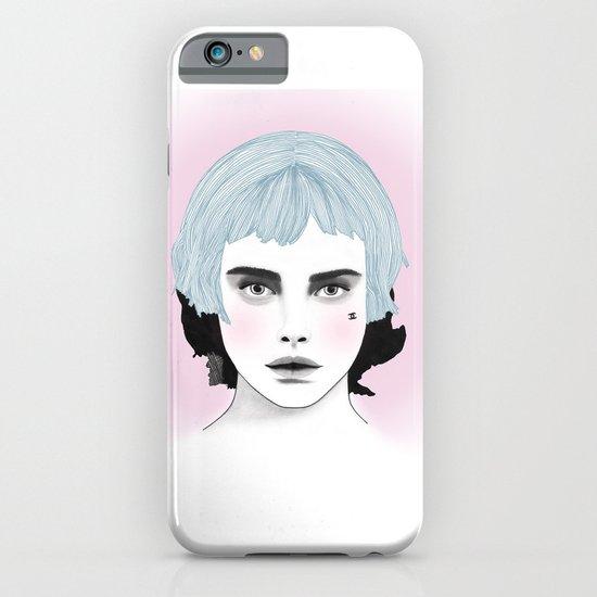 Fashion Illustration - Chanel Blue  iPhone & iPod Case