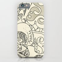 iPhone & iPod Case featuring The Prayer Bloc Party by monasita