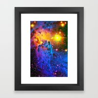 Fox Fur Nebula II Framed Art Print