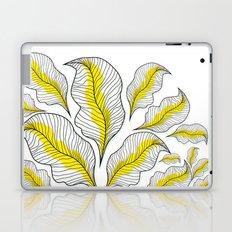 yellow---line Laptop & iPad Skin