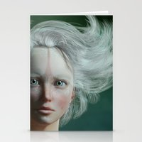 White Faun Stationery Cards