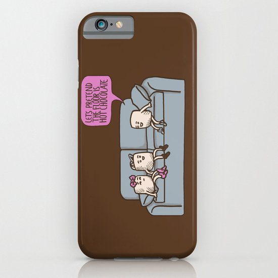 The Floor is Hot Chocolate! iPhone & iPod Case