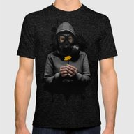 Toxic Hope Mens Fitted Tee Tri-Black SMALL