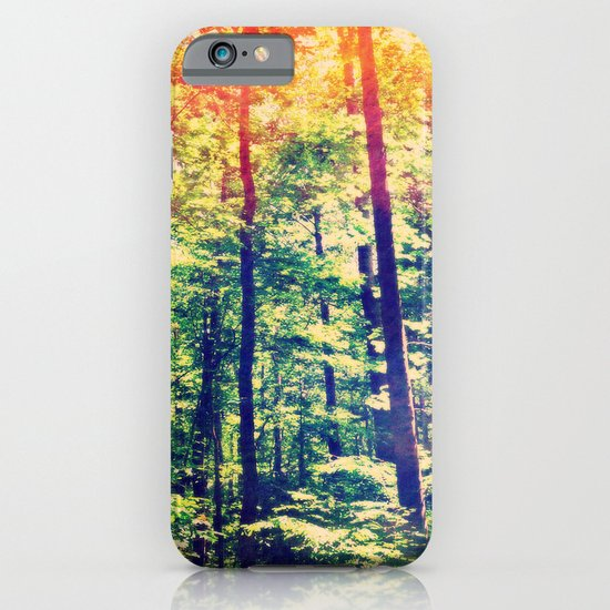 Rainbows in the Woods iPhone & iPod Case