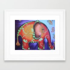 elephanty Framed Art Print