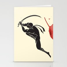 Ninja! Heads will roll! Stationery Cards