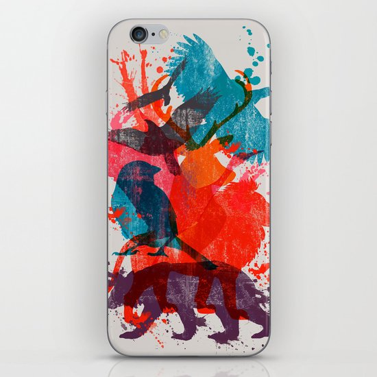 It's A Wild Thing iPhone & iPod Skin