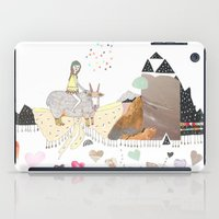 Hermit Crab Vs. Snail iPad Case