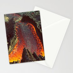 Active Volcano in Guatemala Stationery Cards