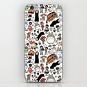 Kawaii Ghibli Doodle iPhone & iPod Skin