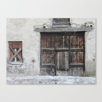 Disused Home Canvas Print