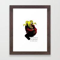 The Ramilla: 'wait, young man.' Framed Art Print