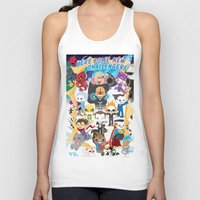 ULTIMATE MARVEL VS CAPCOM 3 ROBOTICS Unisex Tank Top