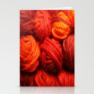 Many Balls Of Wool In Sh… Stationery Cards