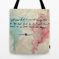 Tolstoy's Love Tote Bag