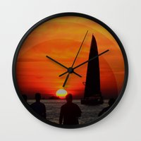The Set Wall Clock