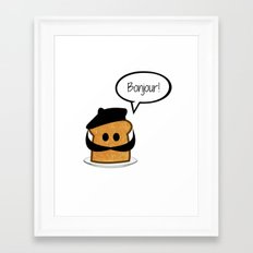 French Toast Framed Art Print