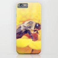 Bee on Yellow iPhone 6 Slim Case