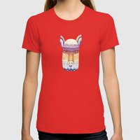 Pig Womens Fitted Tee Red SMALL
