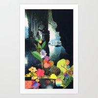 Cave Garden IV Art Print