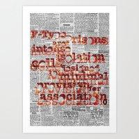 F-Type Prisons Art Print