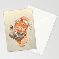 Sushi Fish 2 Stationery Cards