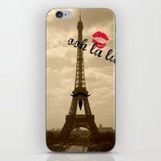 ooh la la iPhone & iPod Skin