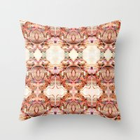 Abstract Brocarts Throw Pillow