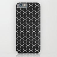 Black Hex iPhone 6 Slim Case