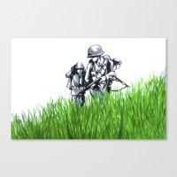 Marines Canvas Print