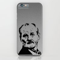 bill murray iPhone & iPod Cases featuring Bill Murray by Spyck