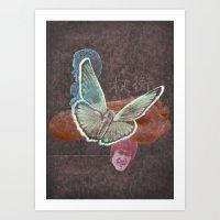 B for balance Art Print