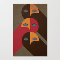 Heads Canvas Print
