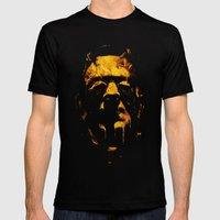 Franky Mens Fitted Tee Black SMALL