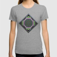 Deco Garden Womens Fitted Tee Athletic Grey SMALL