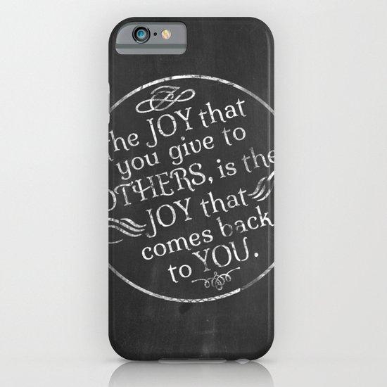 Give Joy  iPhone & iPod Case