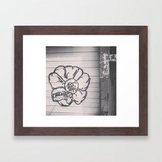 TECHNI BOMB Framed Art Print