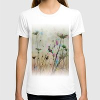 Splash Of Nature Womens Fitted Tee White SMALL