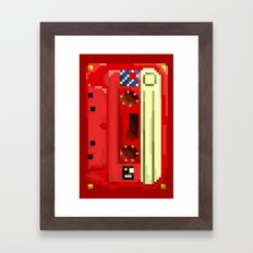 Retro Retro Tape Framed Art Print