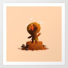 Deku Link | Majora's Mas… Art Print