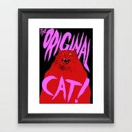 The Original Cat Framed Art Print