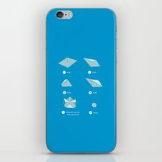 Step-by-step Origami iPhone & iPod Skin