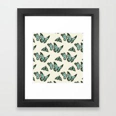 monarch butterflies Framed Art Print