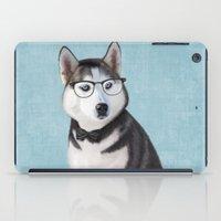Mr Husky iPad Case