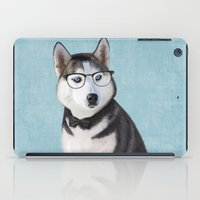 Mr Husky iPad Case