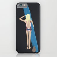 iPhone & iPod Case featuring Wave Check by peanutbuttajennie