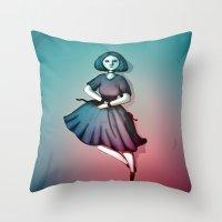 Night Dancer Throw Pillow