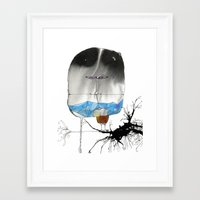 The Trouble With Flight Framed Art Print