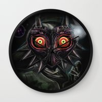 Legend Of Zelda Majora's… Wall Clock
