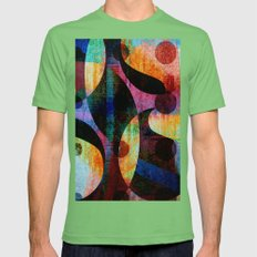 punctuation Mens Fitted Tee Grass SMALL